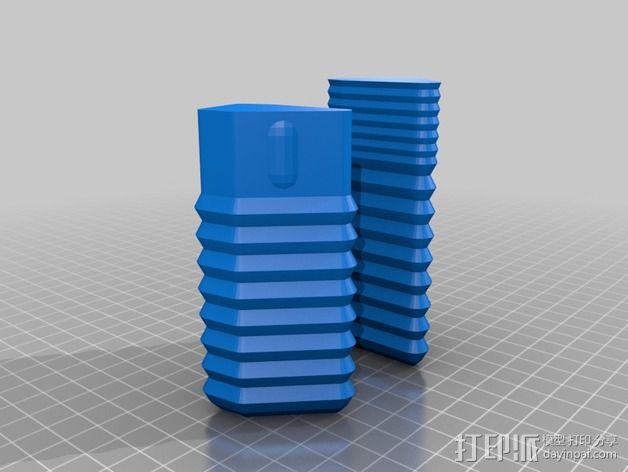 定制化眼镜盒 3D模型  图2