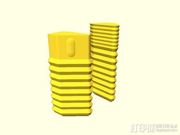 定制化眼镜盒 3D模型  图4