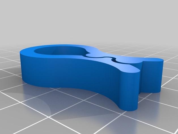 实用食品包装袋夹 3D模型  图5