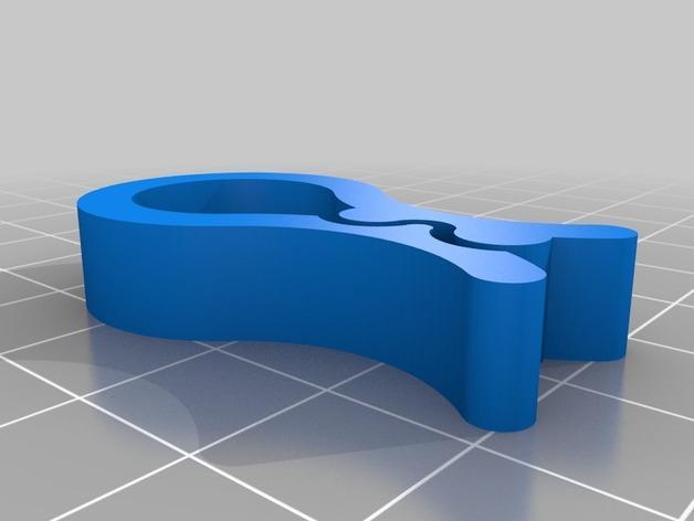 实用食品包装袋夹 3D模型  图6