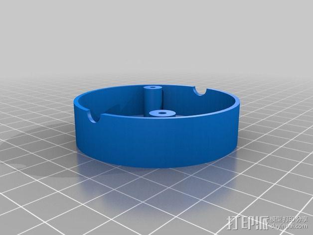 电缆接线头外壳 3D模型  图3