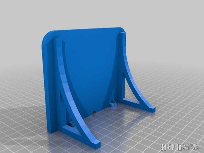迷你壁挂式置物架 3D模型  图2