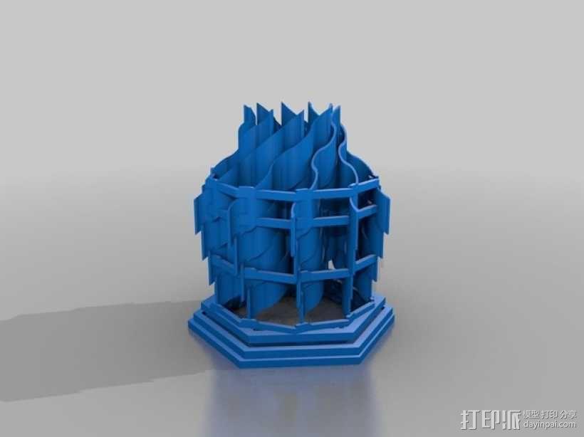 灯塔系列之光笼2 3D模型  图2