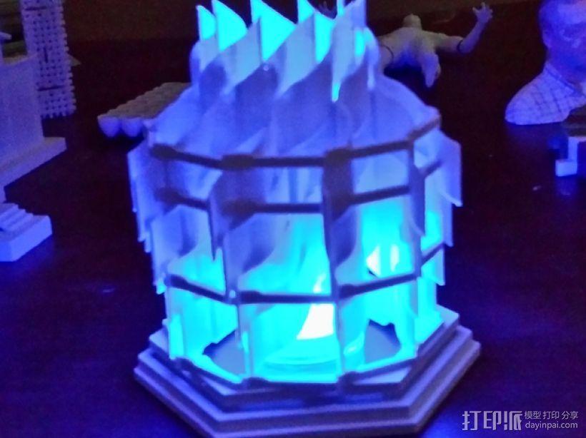 灯塔系列之光笼2 3D模型  图3