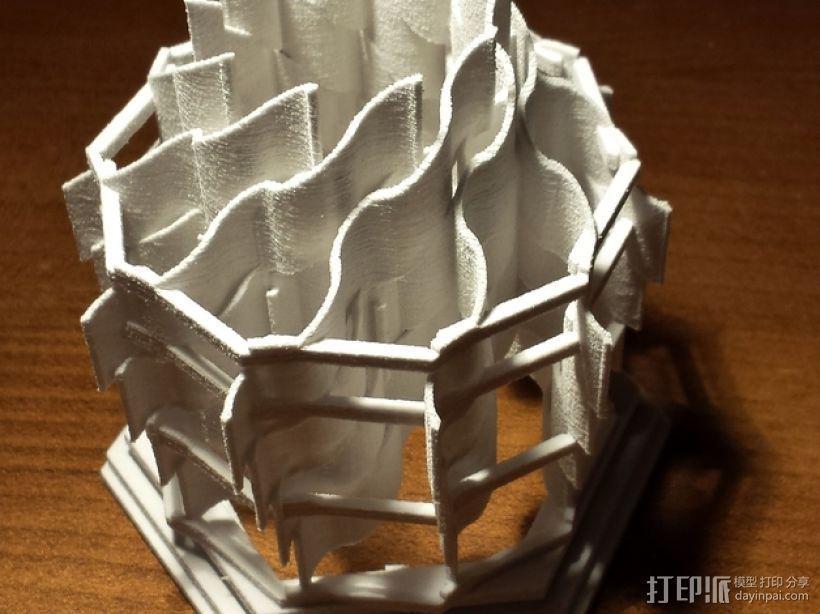 灯塔系列之光笼2 3D模型  图4