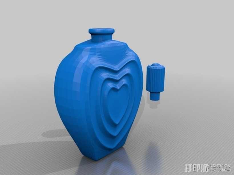 个性化香水瓶 3D模型  图4
