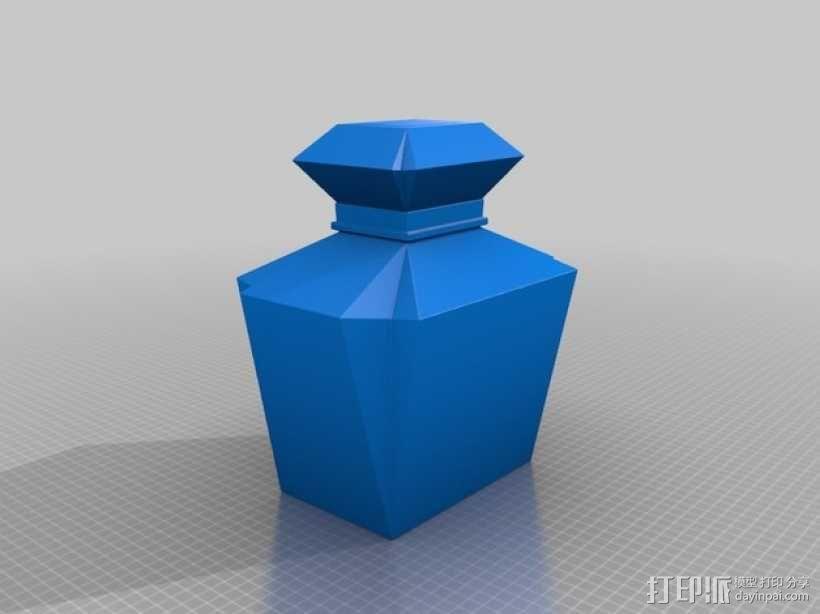 个性化香水瓶 3D模型  图3