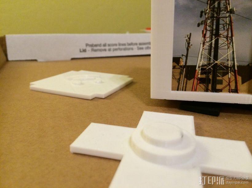 可旋转的照片盒 3D模型  图2