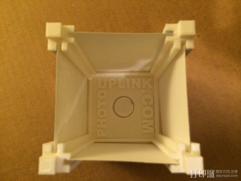 可旋转的照片盒 3D模型  图3