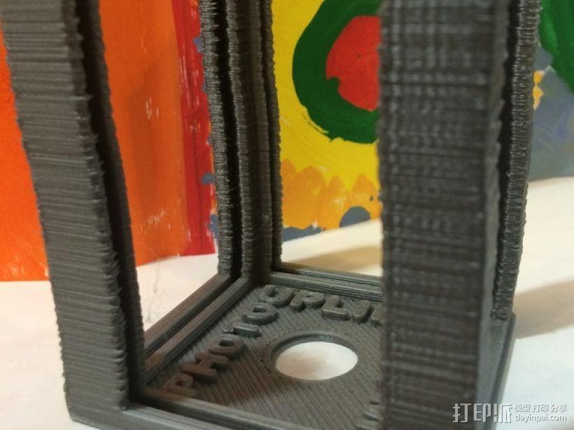 可旋转的照片盒 3D模型  图7