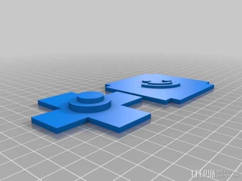 可旋转的照片盒 3D模型  图6