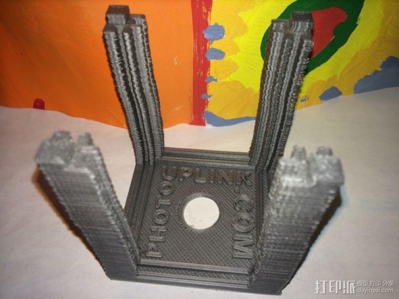 可旋转的照片盒 3D模型  图8
