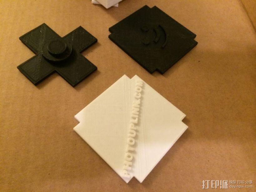 可旋转的照片盒 3D模型  图12