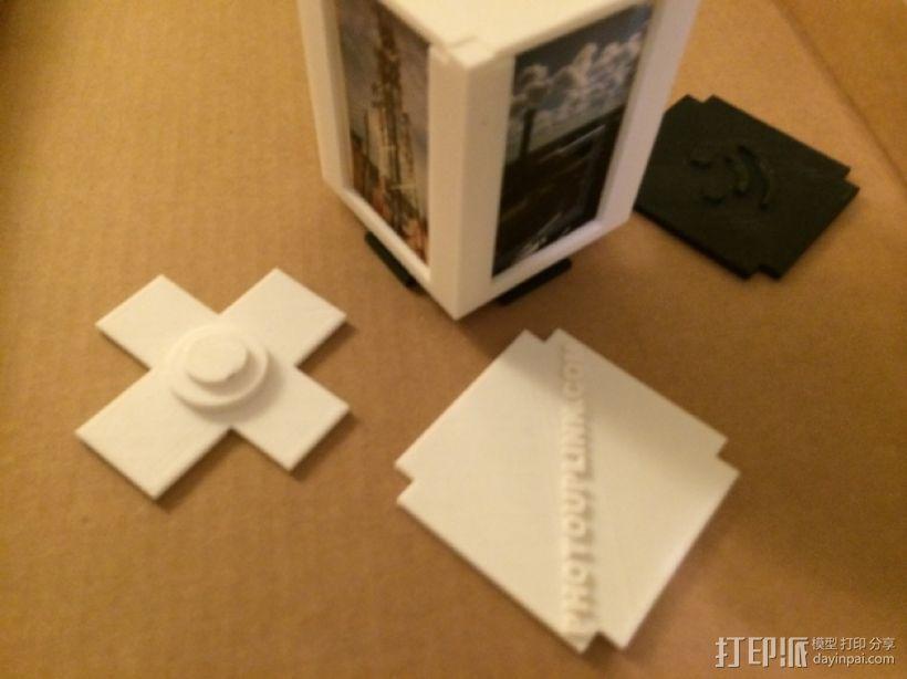 可旋转的照片盒 3D模型  图11