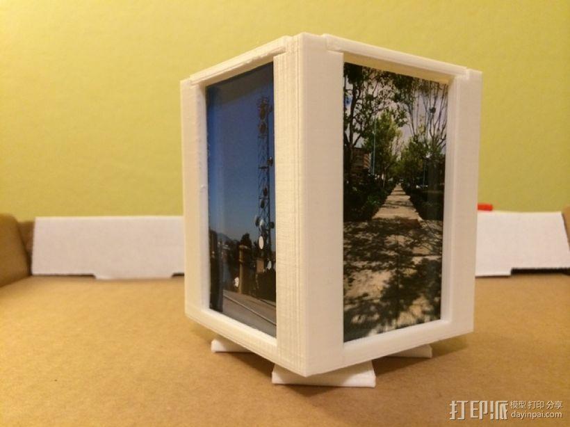 可旋转的照片盒 3D模型  图13