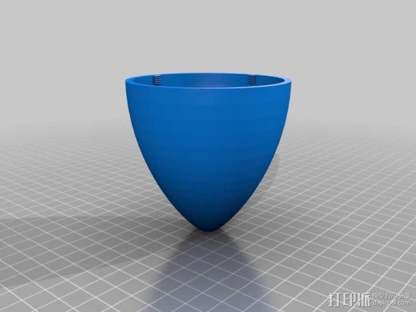 指环王灯罩 3D模型  图3