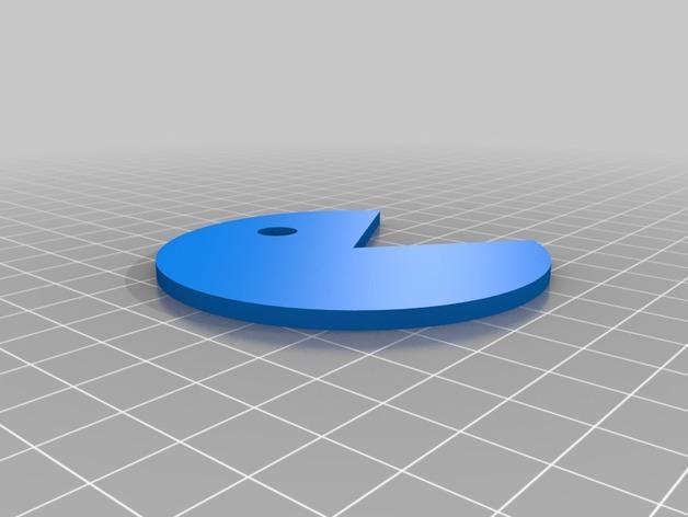 会发光的吃豆人/幽灵 3D模型  图4