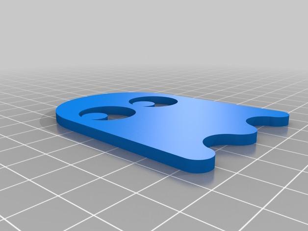 会发光的吃豆人/幽灵 3D模型  图5