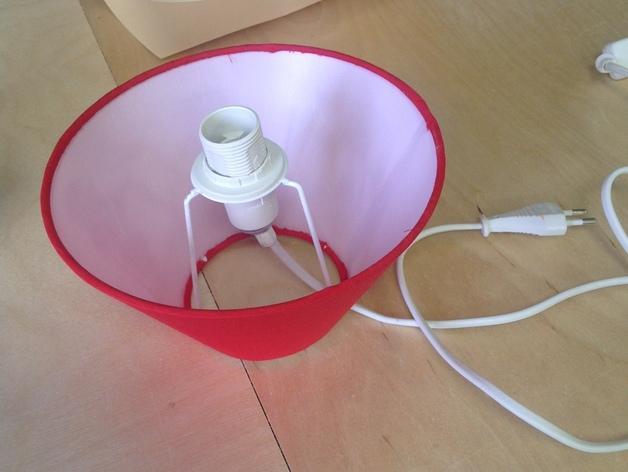 个性化夜灯灯罩 3D模型  图2