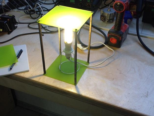 个性化夜灯灯罩 3D模型  图4