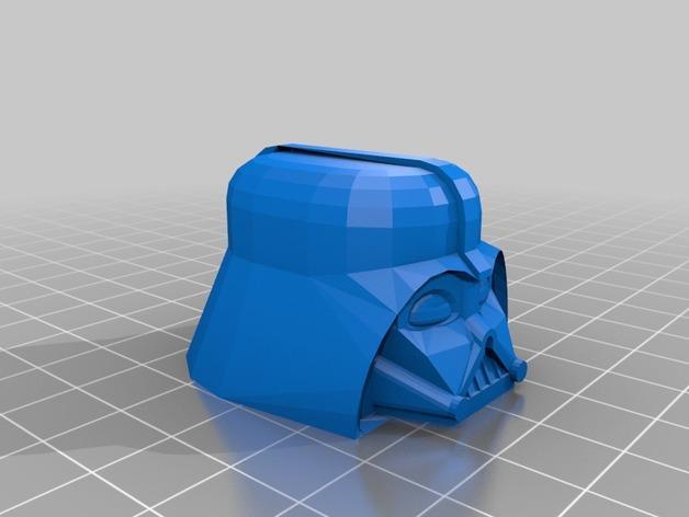 黑武士卷笔刀 3D模型  图2