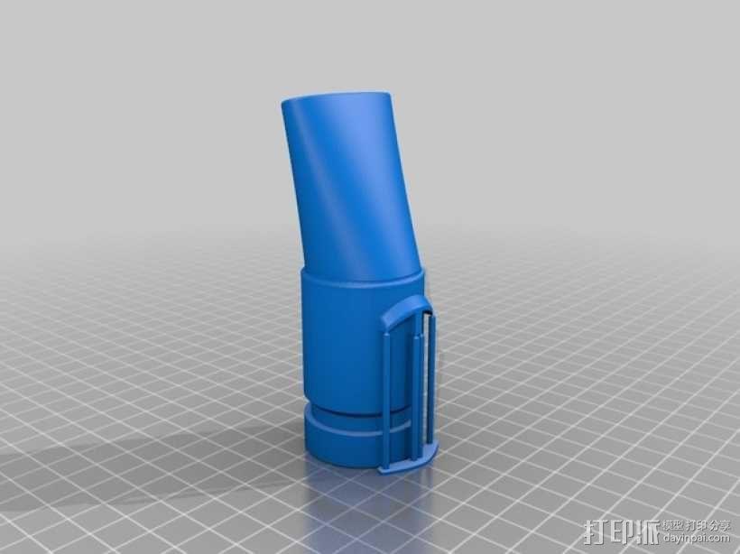 戴森DC animalpro吸尘器短管 3D模型  图3
