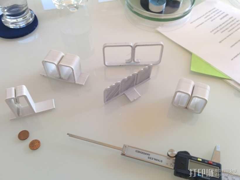 简易菜单夹/纸夹 3D模型  图7