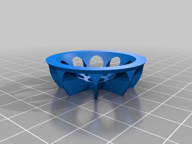 下水道盖 3D模型  图3
