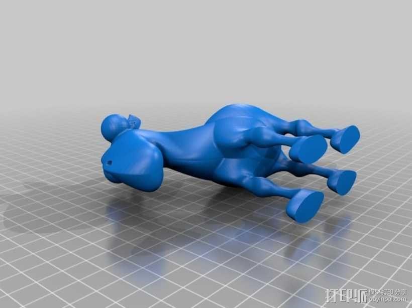 骆驼蛋杯 3D模型  图3