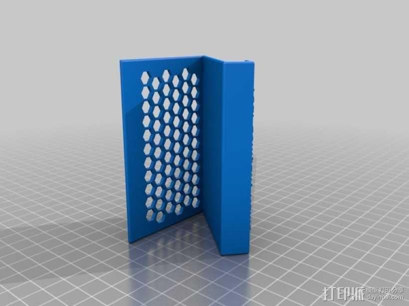 名片盒/名片夹 3D模型  图2