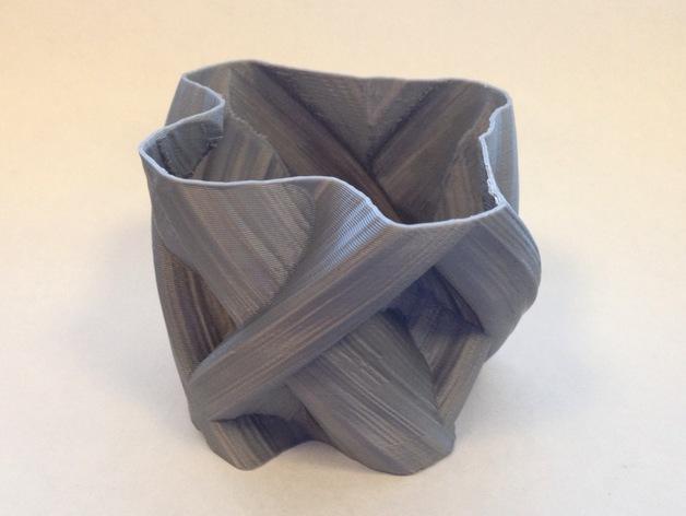定制化自由风格花瓶 3D模型  图4