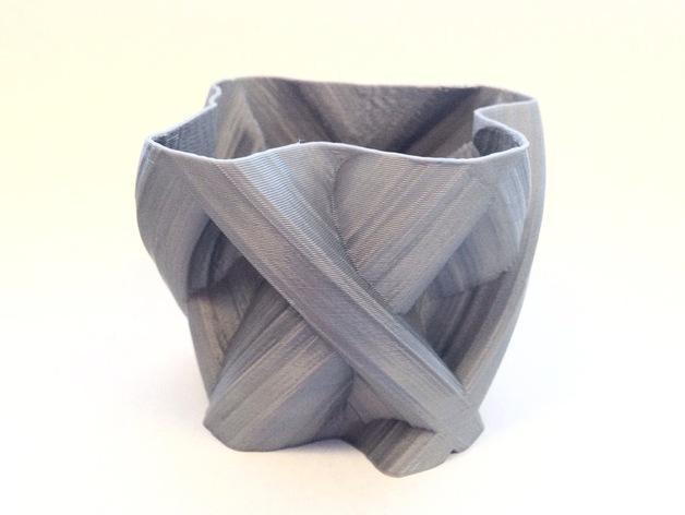 定制化自由风格花瓶 3D模型  图3