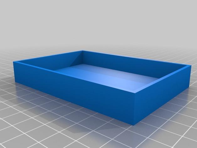 贺卡收纳盒/礼物盒 3D模型  图2