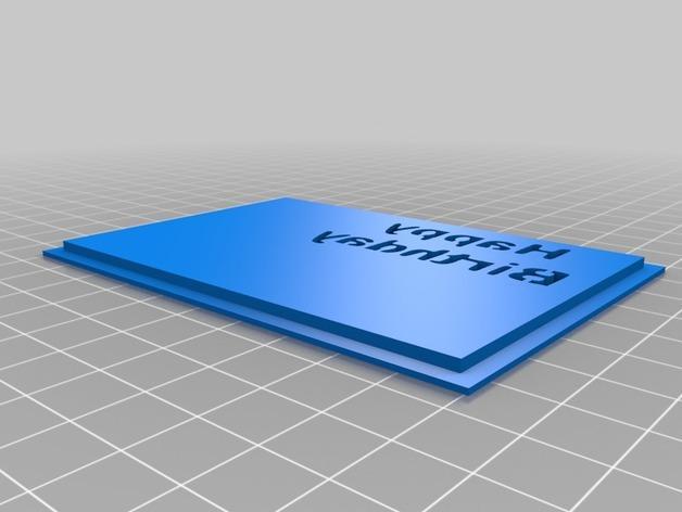 贺卡收纳盒/礼物盒 3D模型  图4