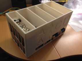 大尺寸电池盒 3D模型