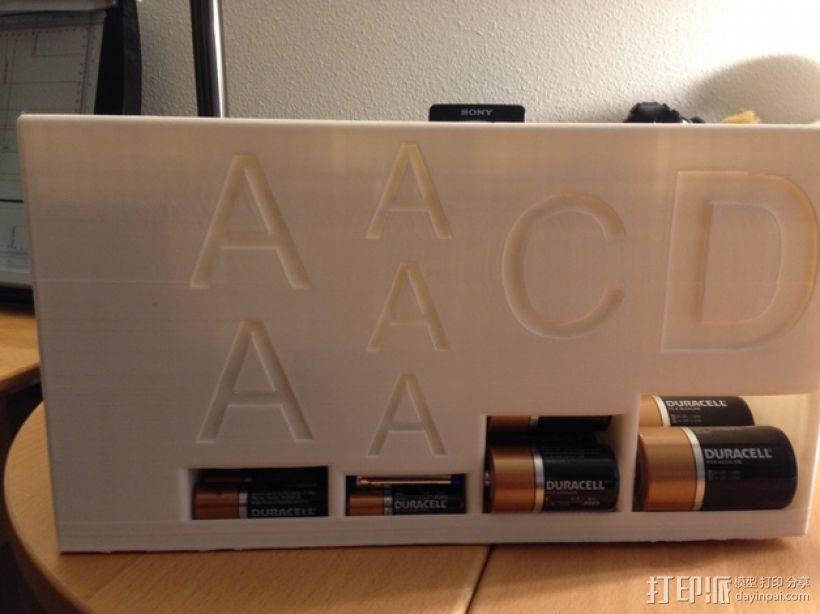 大尺寸电池盒 3D模型  图2