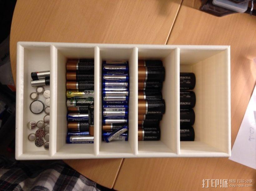 大尺寸电池盒 3D模型  图4