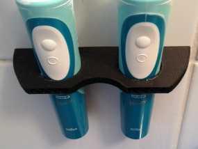 壁挂式电动牙刷架 3D模型