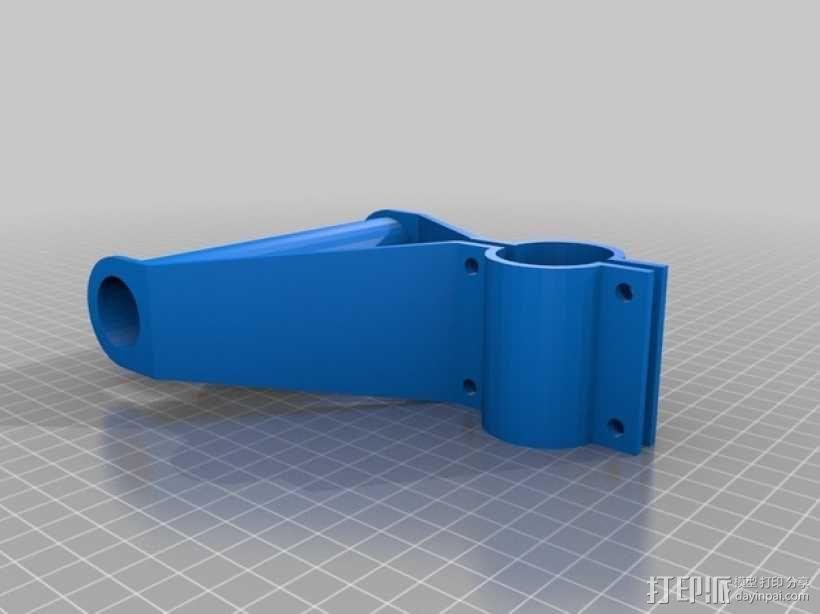 雪铲侧把手 3D模型  图2