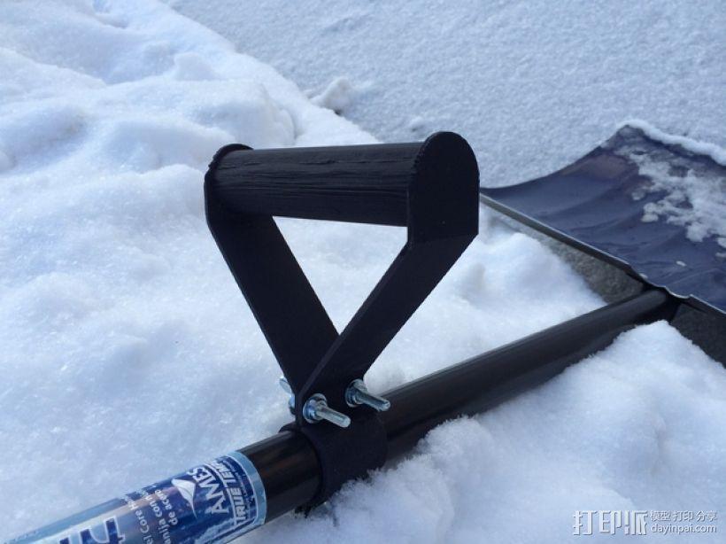 雪铲侧把手 3D模型  图4