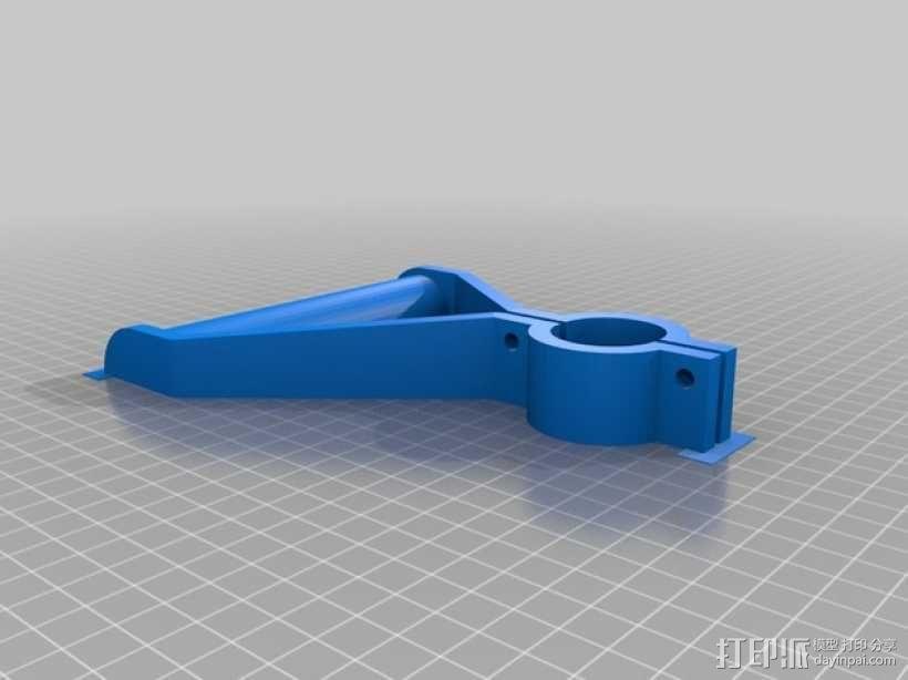 雪铲侧把手 3D模型  图3