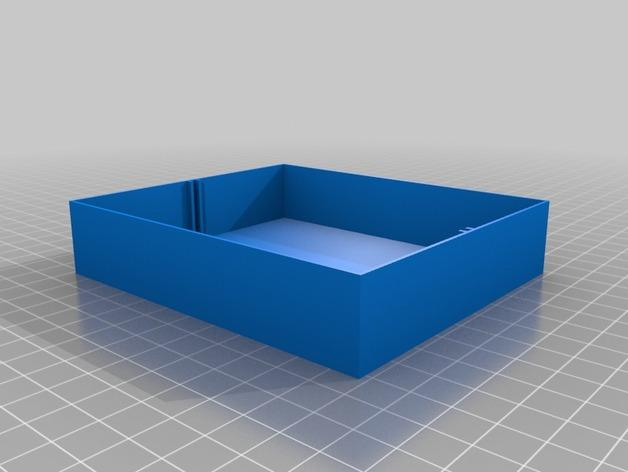 定制化迷你储物抽屉V1.6 3D模型  图2