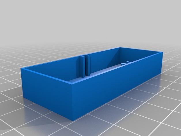 定制化迷你储物抽屉V1.6 3D模型  图3