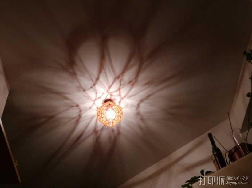 十二面体镂空灯罩 3D模型  图1