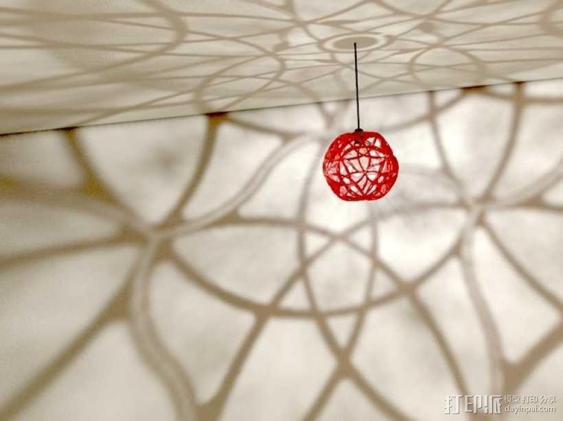 十二面体镂空灯罩 3D模型  图5
