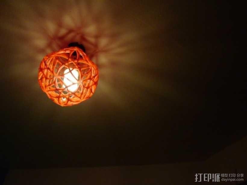 十二面体镂空灯罩 3D模型  图6