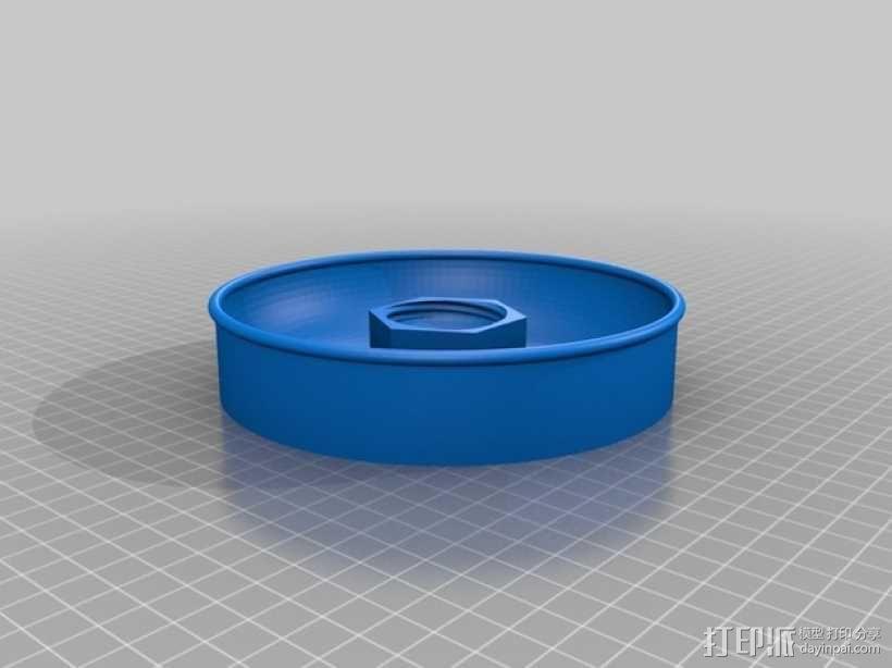 宠物饮水盆 3D模型  图2