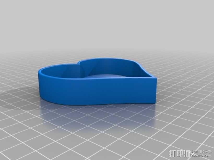 情人节礼物盒 3D模型  图2