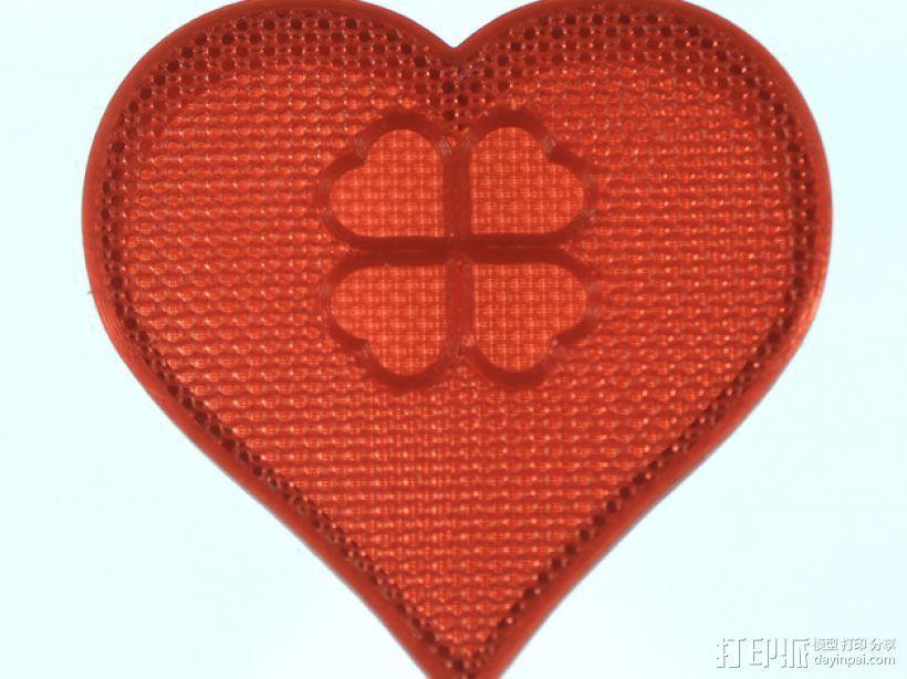 情人节礼物盒 3D模型  图5
