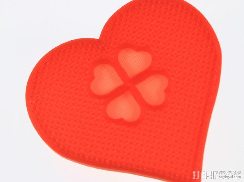 情人节礼物盒 3D模型  图8